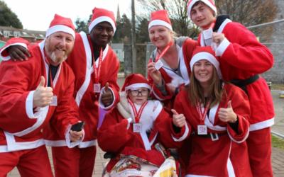 Exeter Santa Run 2016
