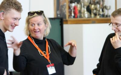 Jenny Sealey MBE visits us