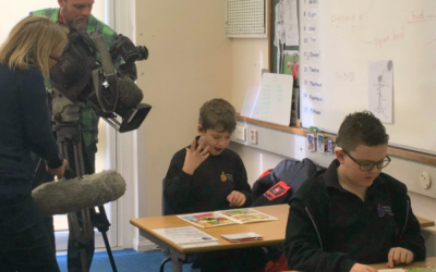 ITV West Country News visits us