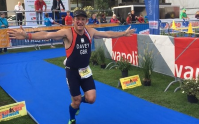 Geoff Davey competes for Team GB in 'toughest duathlon in the world'
