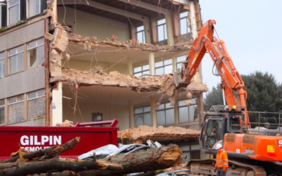 Demolition is complete at the Rolle site in Exmouth