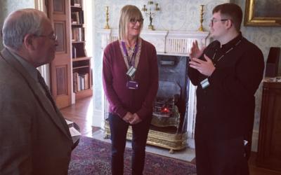 History fan Harley impresses Killerton House visitors