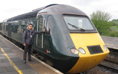 Tom's work placement at Exeter St David's