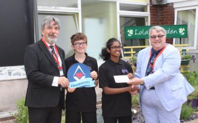 A Generous £5000 Donation
