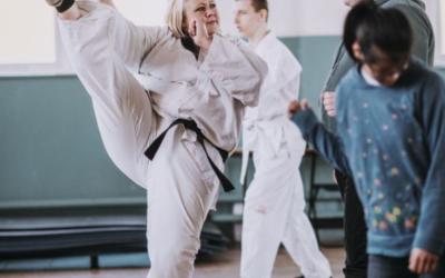 Taekwondo for WOW Wednesday!