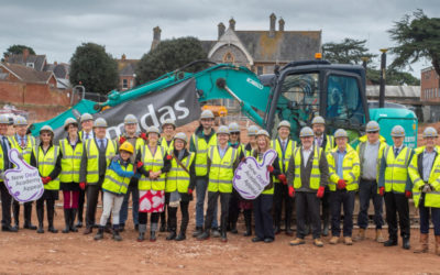 Our New Academy Ground-breaking Ceremony