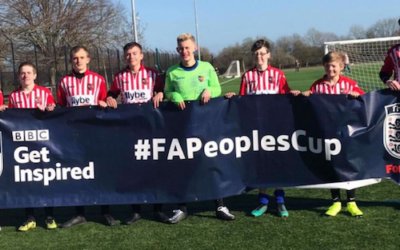 Exeter Deaf U-16s reach the FA People's Cup final rounds