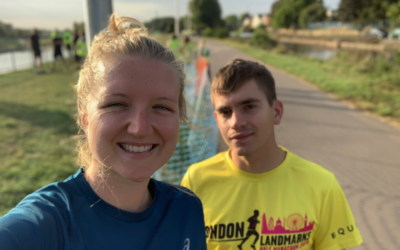 Olivia, Louis and Will's half-marathon for our Academy Appeal