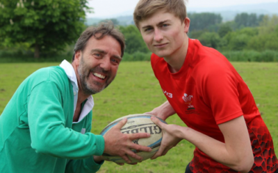 William's international rugby dreams come true!