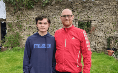 Robert takes on the epic 102 mile Devon coast to coast challenge to support young Deaf students